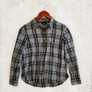 Madewell Popover Flanel
